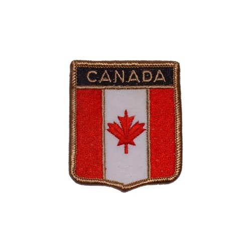 Patch-Canada Shield