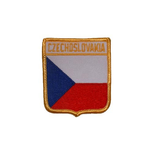 Patch-Czech Republic Shield