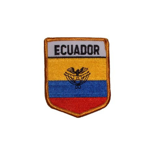 Patch-Ecuador Shield