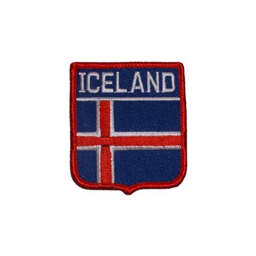 Patch-Iceland Shield