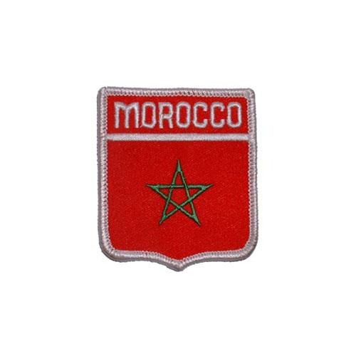 Patch-Morocco Shield
