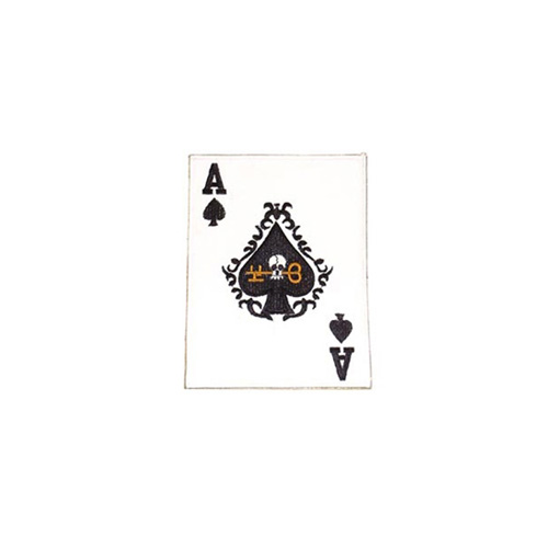 Patch Card Ace-Spade