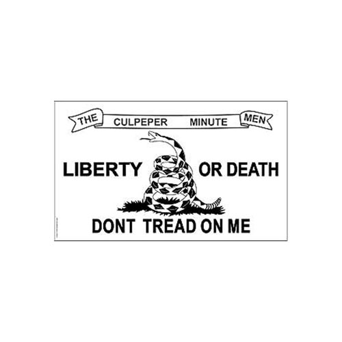 Dont Tread On Me White Flag