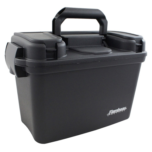 Flambeau Sportsman's Dry Box - 14 Inch - Black