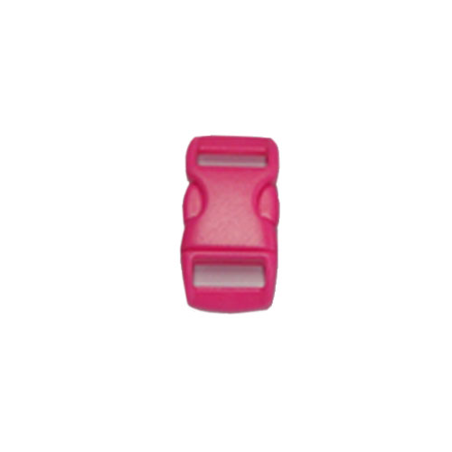 Bright Pink 3/8 Inch Plastic Buckle