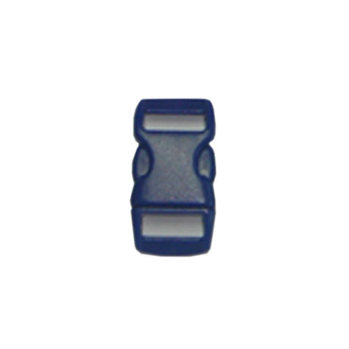 Blue 3/8 Inch Plastic Buckle