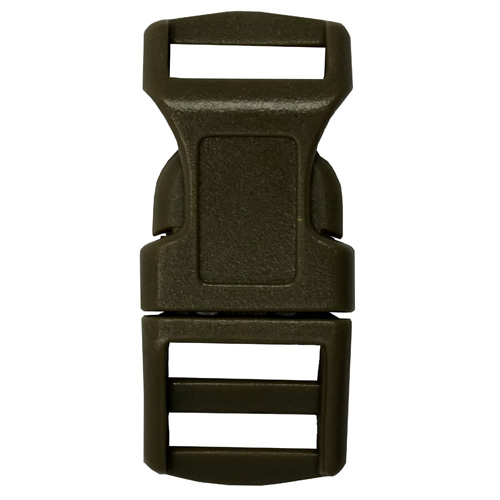 1/2 Inch Plastic Buckle (Olive Drab)