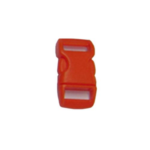 Orange 1/2 Inch Plastic Buckle