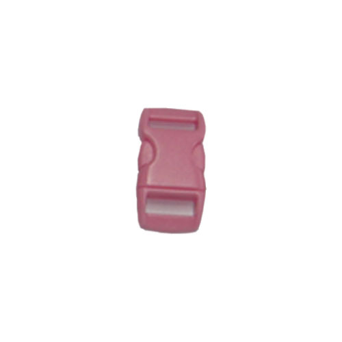 Pink 3/8 Inch Plastic Buckle