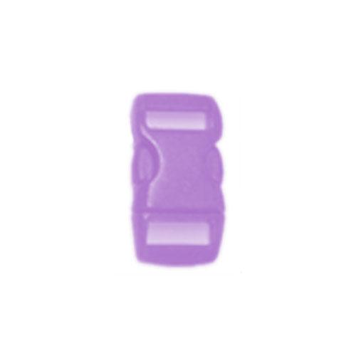 Purple 1/2 Inch Plastic Buckle