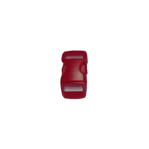 Red 5/8 Inch Plastic Buckle