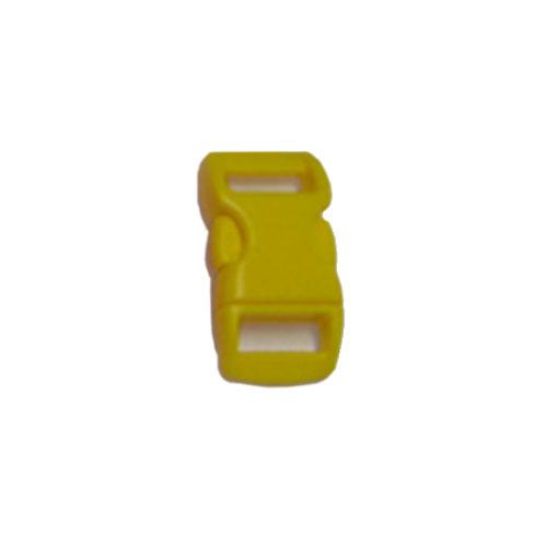 Yellow 5/8 Inch Plastic Buckle