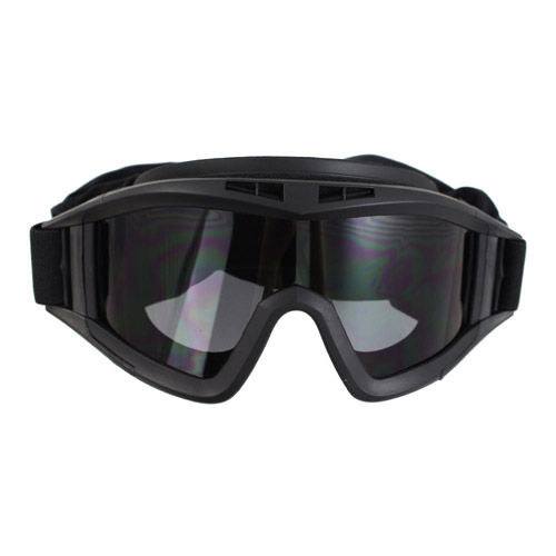 Military Style Basic Airsoft Goggle - Black