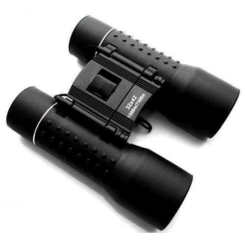Foldable 32x42 Black Binoculars