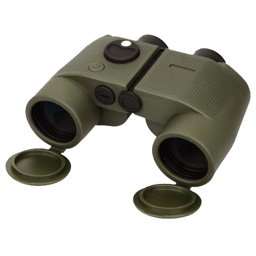 Marine Binoculars with Compass - Olive Drab