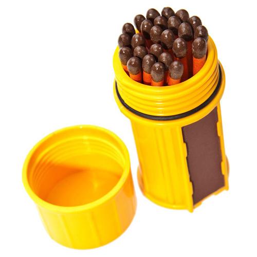 Industrial Revolution MT-SM-CONT Stormproof Match Kit - Yellow
