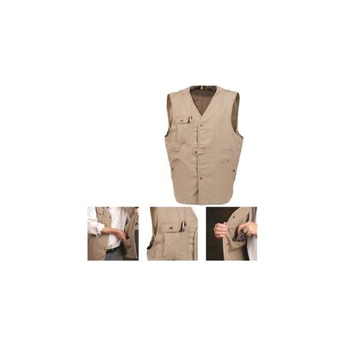 Ka-Bar 5-1492-0 TDI Tactical Concealment Medium Khaki Vest