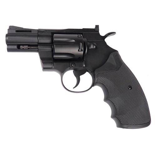 KWC KC66DHN 2.5 Inch Barrel Black Airsoft Revolver