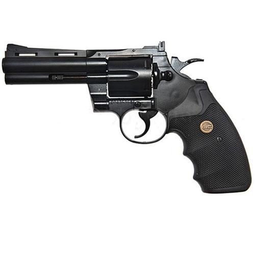 KWC KM67DN 4 Inch Black Steel BB Revolver
