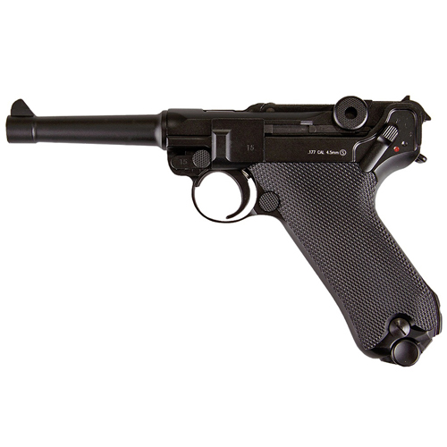 KWC 4.5mm Full Metal Luger P08 BB Gun