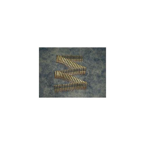 M60 .308 Brass Bullet Belt With Copper Tips Blk.Links