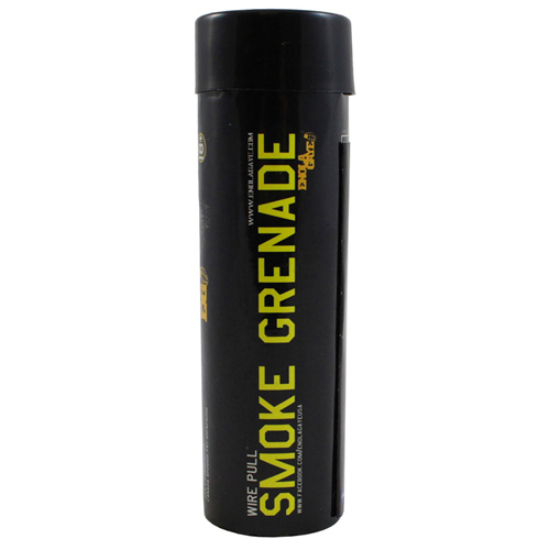 Enola Gaye Wire-Pull Smoke Grenade - Yellow