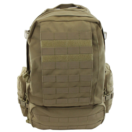 Raven X MOLLE Large Assault Backpack - Tan