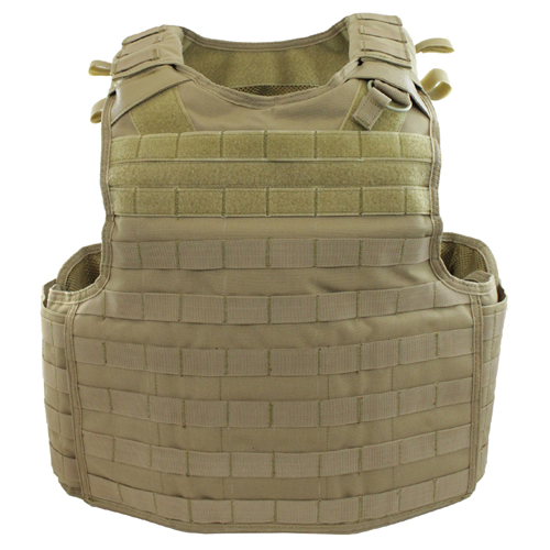 Raven X Quick-Release Plate Carrier - Tan