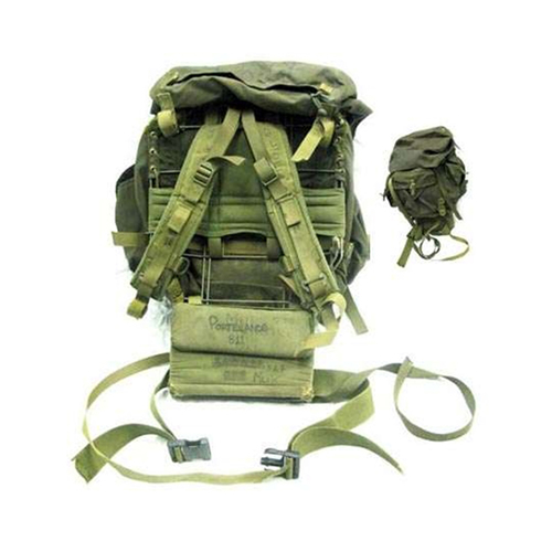 Canadian Military Olive Drab Large Frame Pack