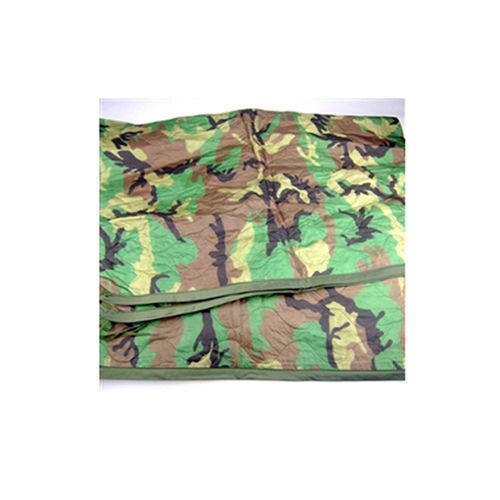Surplus Woodland Camouflage Wet Weather Poncho Liner