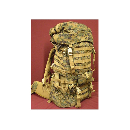 Surplus USMC ILBE Main Back Pack With Lid Belt Radio Pouch Marpat