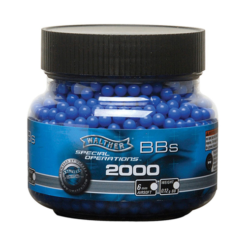 Walther 12 Gram 6 MM 2000 Airsoft BBs