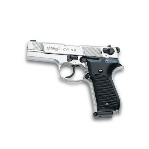 Walther CP88 Nickel Black Synthetic Grips Air gun