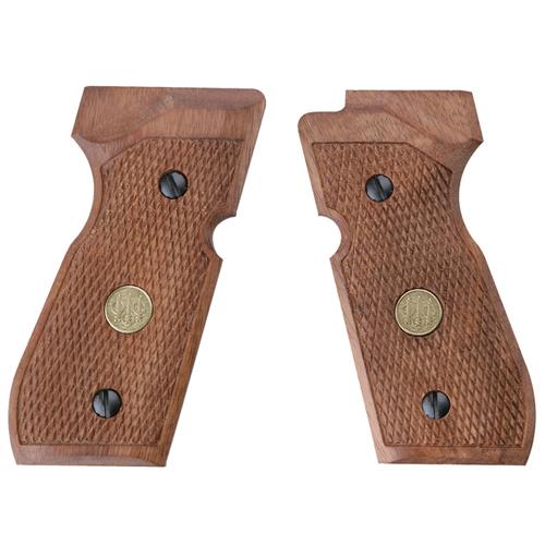 Beretta Wood Plastic M92 Grips