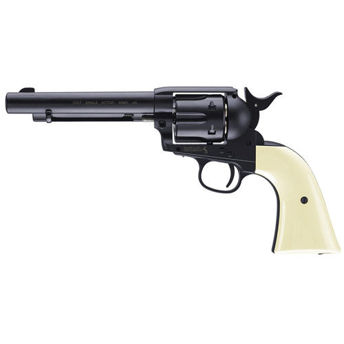 Colt Single Action Blued Peacemaker Army CO2 Revolverr