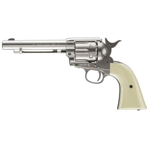 Colt Peacemaker Nickel gun