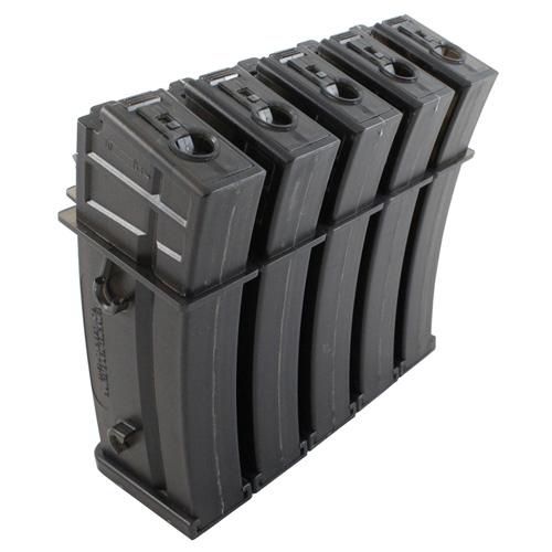 Heckler & Koch G36 470rds Airsoft Magazine 5-Pack