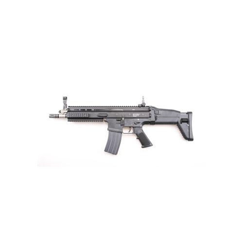 WE FN Scar-L GBB Black Open Bolt Airsoft Rifle