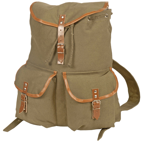 Camper Canvas Backpack (Olive)