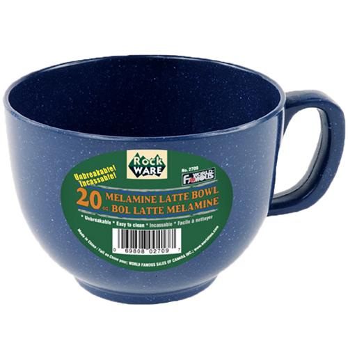 World Famous Camping 20 oz Mug (Blue)