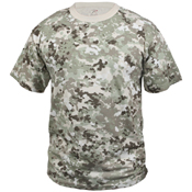 Colored Camo Mens T-Shirts