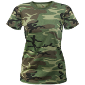 Ultra Force Long Length Camo T-Shirt