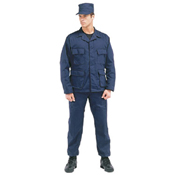 Ultra Force Navy Blue Rip Stop BDU Pants - XLarge - Long