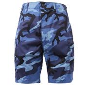 Mens Colored Camo BDU Shorts