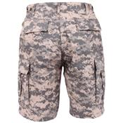 Mens Camo Combat Military BDU Shorts