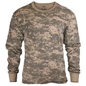 Kids Long Sleeve Camo T-Shirt