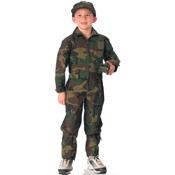 Kids Air Force Type Army Flightsuit